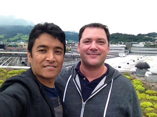 Filmemacher Christian Macek und Ahmad